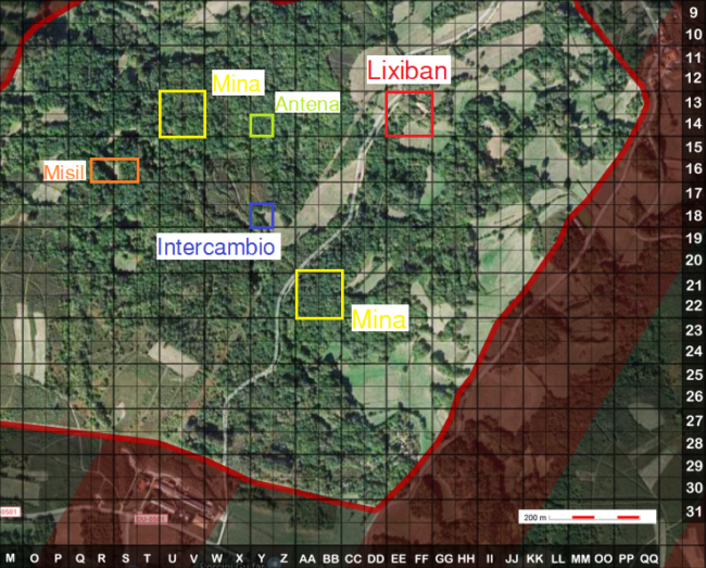 Mapa Sirisas Completo