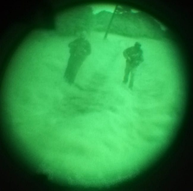 NVG ArmaSight GEN2+ view