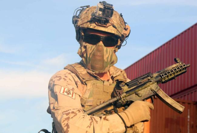 Armamento FGNE MP5