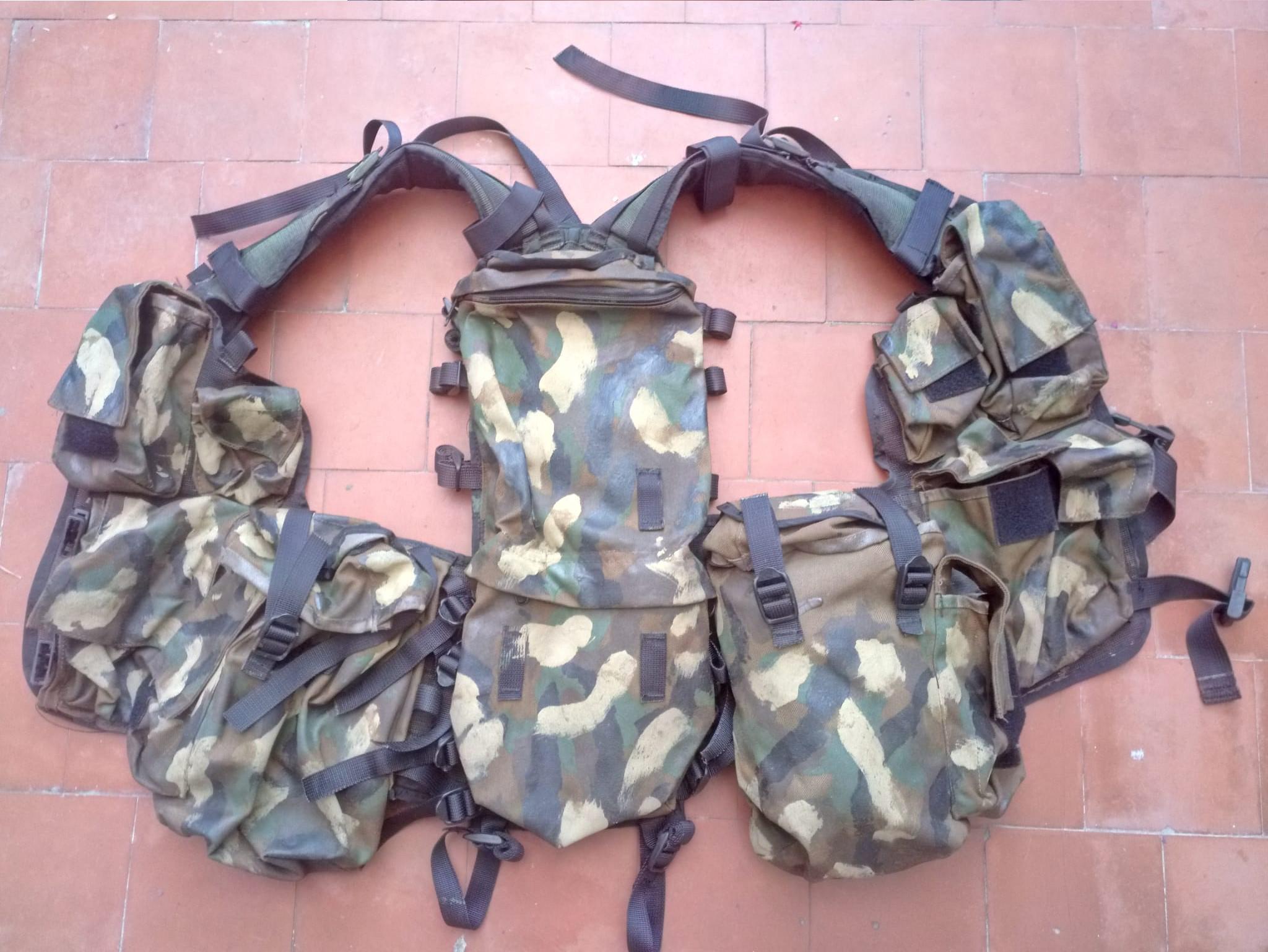 SADF P83 Battle Jacket
