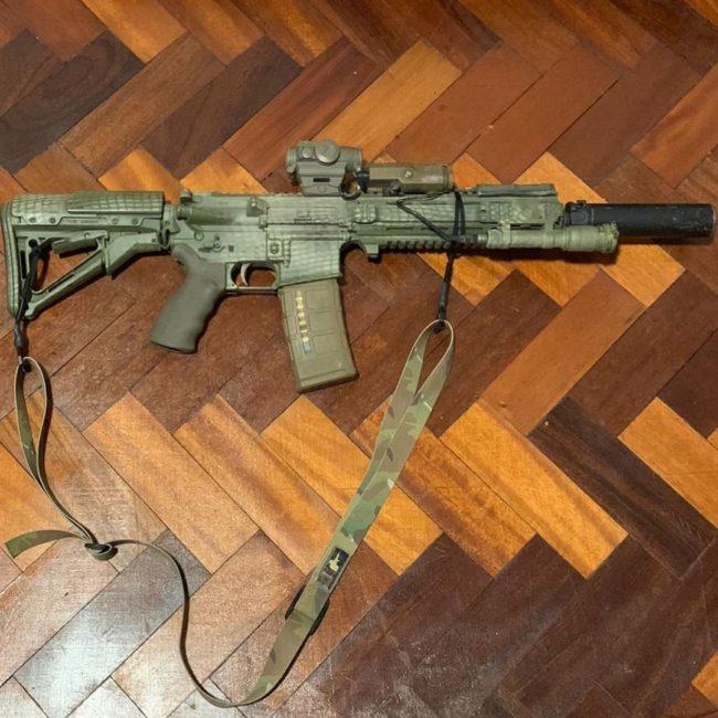 british l119A2 rifle