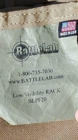 Low Vis Rack Tag