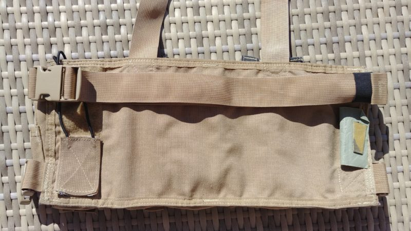 Chest rig rear view