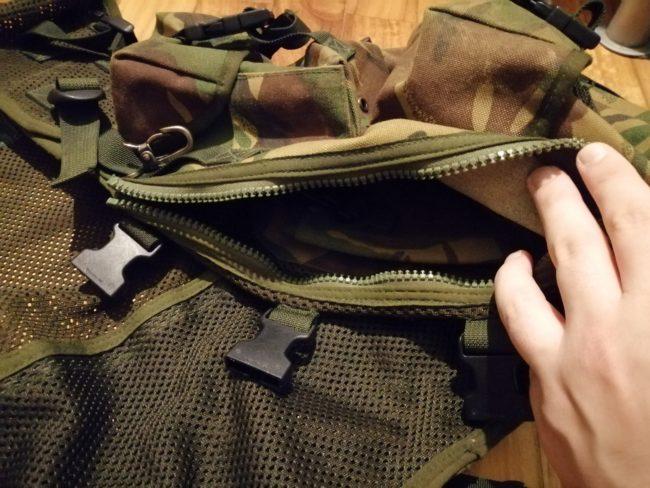 Assault Vest Bolsillo