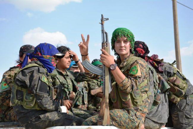 YPJ kurdish kurdas militia