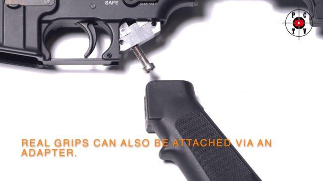 Systema pistol grip adaptador